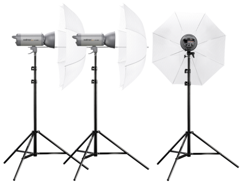 Walimex Pro Studio Set VC-600/600/600