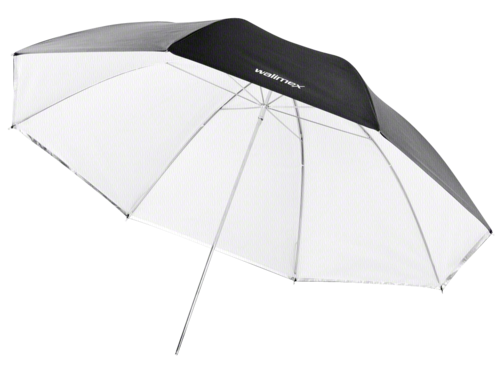 Walimex 2 in 1 Reflex & Translucent Umbrella white 109cm