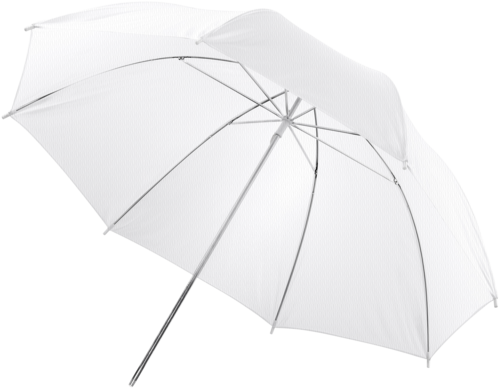 Walimex Translucent Umbrella white 123cm