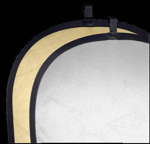 Walimex Foldable Reflector Gold/Silver 91x122cm