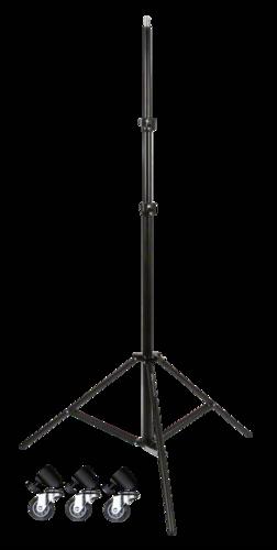 Walimex Pro FW-806 AIR + Tripod Wheels Pro 280cm