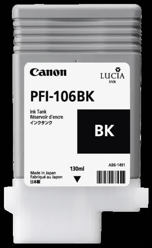 Canon PFI-106 BK Black