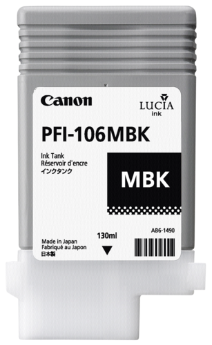 Canon PFI-106 MBK Matte Black