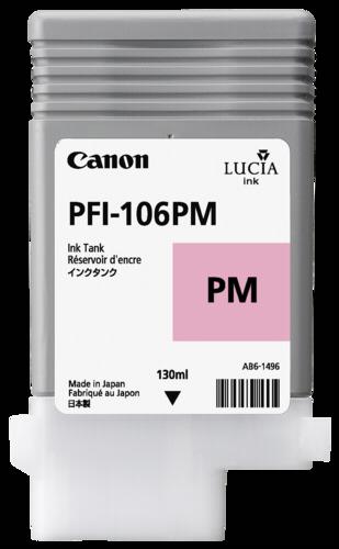 Canon PFI-106 PM Photo Magenta
