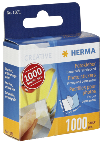 Herma Photo Stickers 1000 pcs 1071