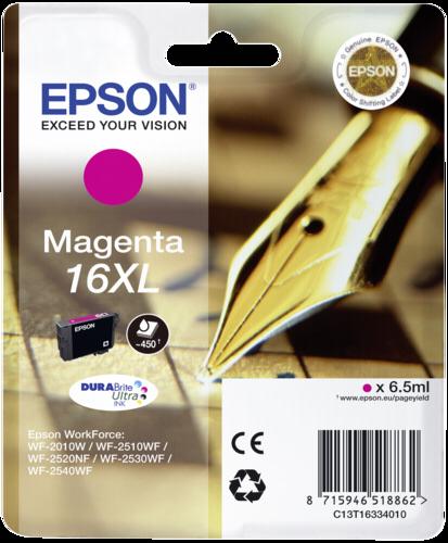 Epson Cartridge T1633 DURABrite Ultra Magenta XL
