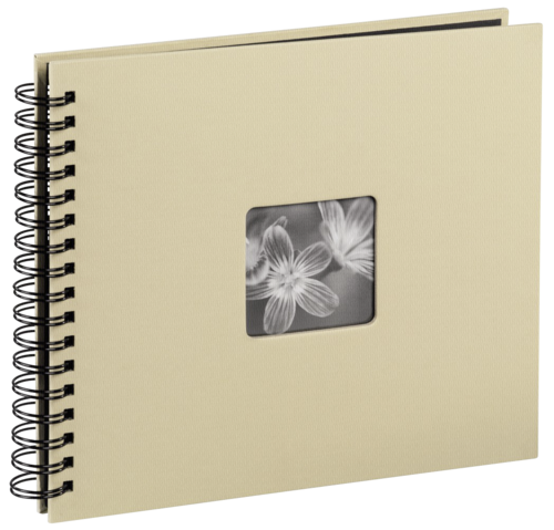Hama Fine Art Spiral Taupe 36x32 - 50 black pages