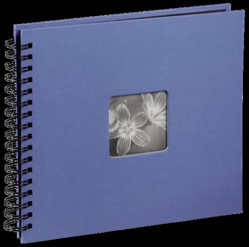 Hama Fine Art Spiral Azure 36x32cm (50 black Pages)