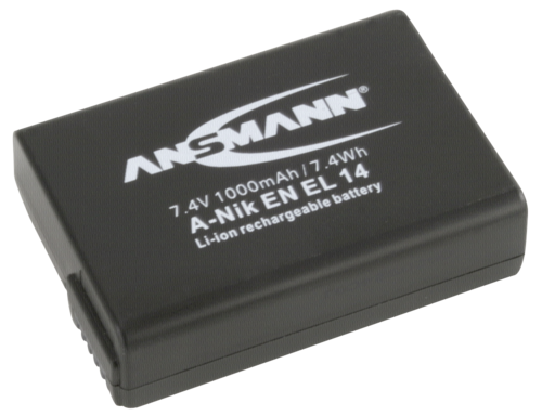 Ansmann Nikon EN-EL14 1000mAh