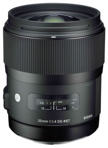 Sigma 35mm f/1.4 DG HSM Art Sony
