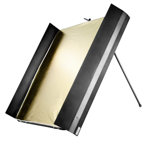 Walimex Reflector Panel with light flaps 1x1m