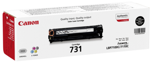 Canon Toner Cartridge 731BK Black