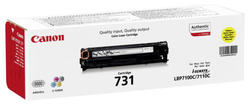 Canon Toner Cartridge 731Y Yellow