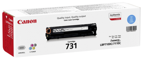 Canon Toner Cartridge 731C Cyan