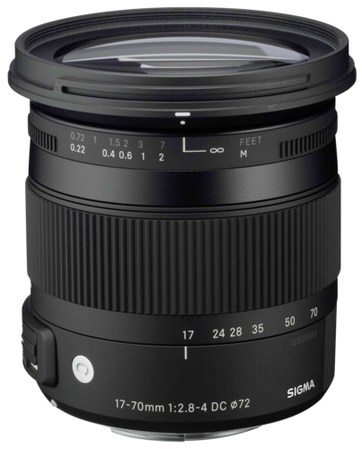 Sigma 17-70mm f/2.8-4 DC OS HSM Macro Canon