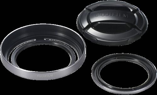Fujifilm LHF-X20 Lens Hood Set Silver