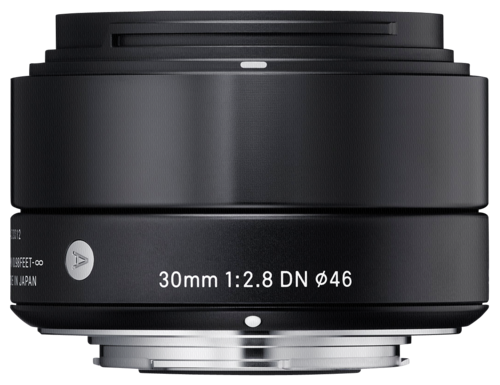 Sigma 30mm f/2.8 DN Black MFT