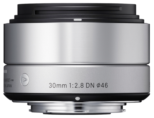 Sigma 30mm f/2.8 DN Silver Sony E-Mount