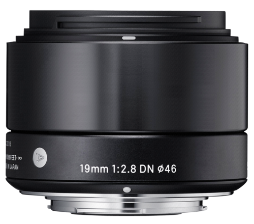 Sigma 19mm f/2.8 DN Black MFT