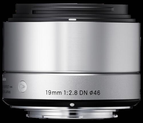 Sigma 19mm f/2.8 DN Silver MFT