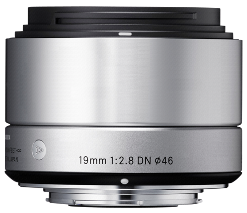 Sigma 19mm f/2.8 DN Silver Sony E-Mount