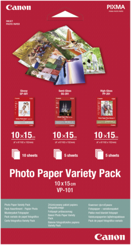 Canon VP-101 Variety Pack 10x15cm