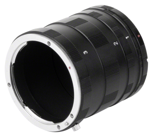Walimex Macro Intermediate Ring Set for Canon