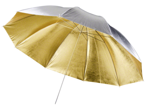 Walimex pro 2in1 Reflex Umbrella golden/silver 150cm
