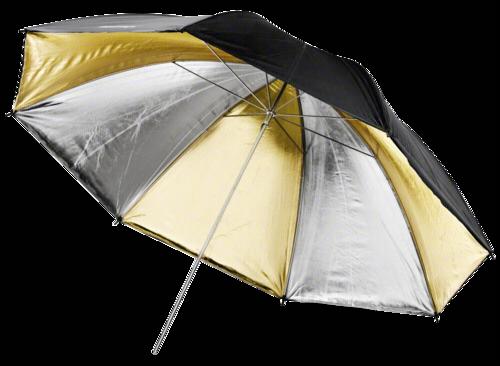 Walimex Reflex Umbrella Dual gold/silver 2 lay 109cm