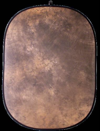 Walimex Foldable Background 146x200cm Brown Batik