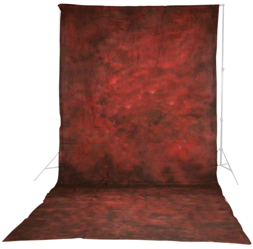 Walimex Pro Cloth Background 3x6m Structural Red