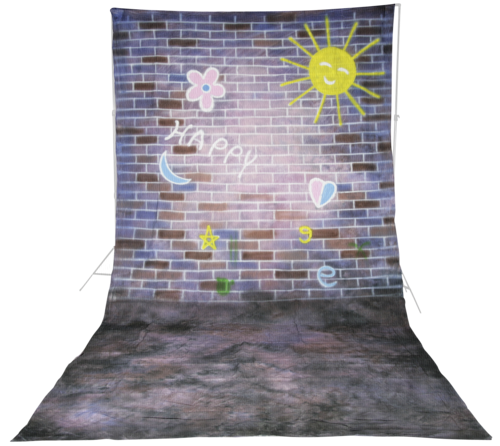 Walimex Pro Cloth Background 3x6m Happy