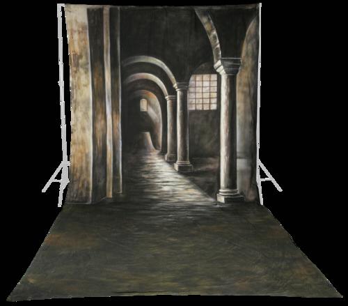 Walimex Pro Cloth Background 3x6m Gothic