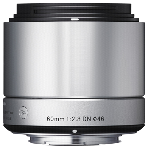 Sigma 60mm f/2.8 DN Silver Sony E-Mount