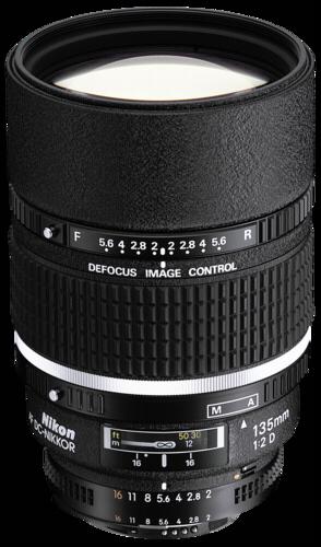 Nikon AF 135mm f/2D DC