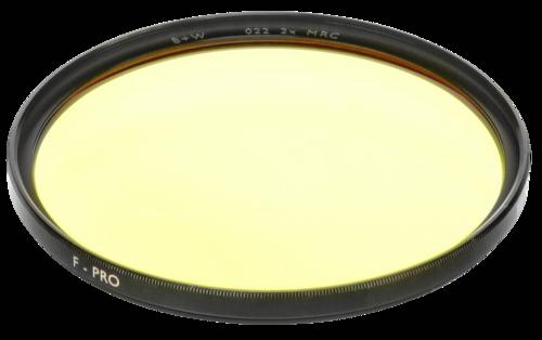 B+W F-Pro 022 Medium Yellow MRC 72mm