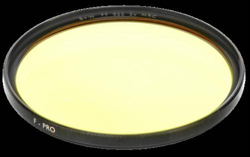 B+W F-Pro 022 Medium Yellow MRC 77mm
