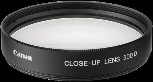 Canon close-up lens 500 D 52
