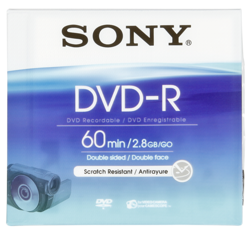 Sony Mini DVD-R 2.8GB 8cm 60min