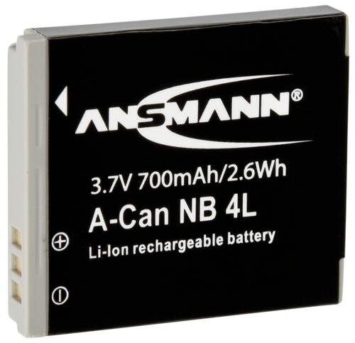 Ansmann Canon NB-4L 700mAh