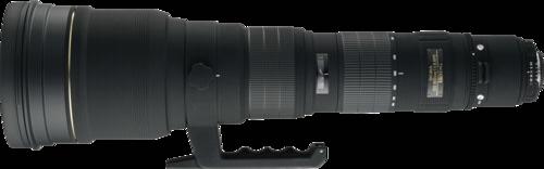 Sigma EX 300-800mm f/5.6 DG APO HSM Canon