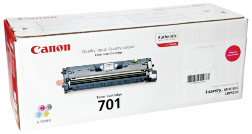 Canon Toner Cartridge 701M Magenta