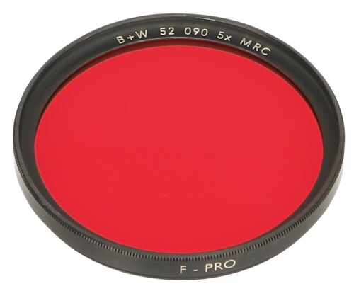 B+W F-Pro 090 Light Red MRC 52mm