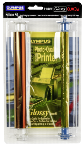Olympus P-RBWW ink ribbon Gloss