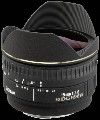 Sigma EX 15mm f/2.8 DG Nikon