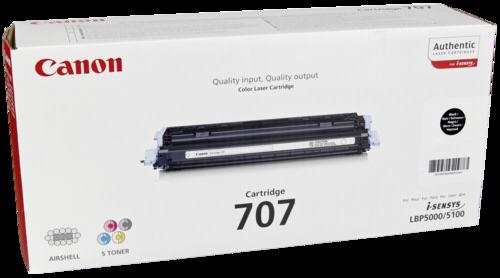 Canon Toner Cartridge 707BK Black