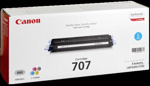 Canon Toner Cartridge 707C Cyan