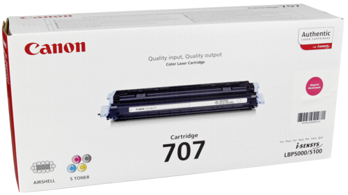 Canon Toner Cartridge 707M Magenta