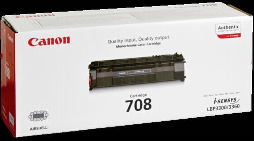 Canon Toner Cartridge 708BK Black