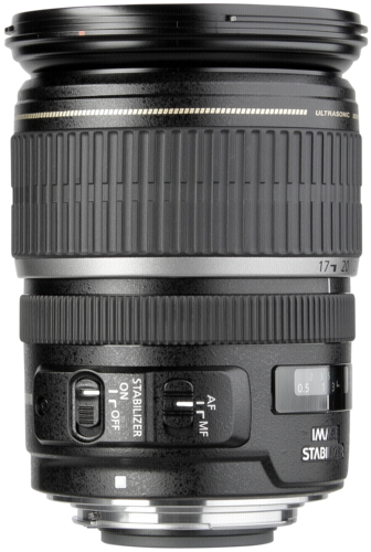 Canon EF-S USM     2,8/17-55 IS